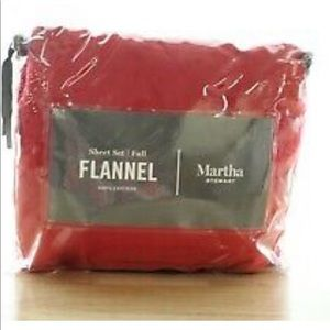 Martha Stewart Cotton Flannel sheet set